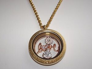 Gold Locket Necklace for Partner/Girlfriend/Wife