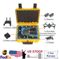Waterproof Yellow Handbag Carrying Case For DJI Mavic Pro Drone 330X130X260MM US