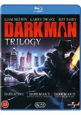 Darkman Trilogy NEW Cult Blu-Ray 3-Disc Set Liam Neeson Larry Drake Jeff Fahey