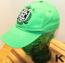 ECKO UNLIMITED GREEN FITTED BASEBALL CAP/HAT, L/XL, EMBROIDERED PATCH, COOL!!