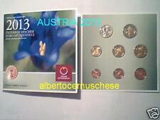 2013 Austria 8 monete 3,88 euro Autriche Osterreich fdc bu kms ufficiale Австрия