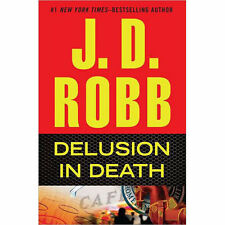 DELUSION IN DEATH by J. D. ROBB Book Club Edition