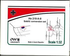 Owl Decals 1/32 HEINKEL He-219A-0 Basic Night Fighter Conversion Set