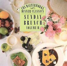 Sunday Brunch, Volume II; 1990 CD, Bach, Vivaldi, Handel, Purcell, Scarlatti, Ma