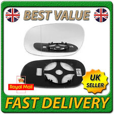 Left Passenger Heated Aspherical Wing Mirror Glass for MITSUBISHI CARISMA 95-04