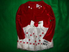 YOUNG/LAND~girls~GORGEOUS/2PC/CHRISTMAS/LINED/JACKET/DRESS! (24~MO) N/W/TAGS! @@