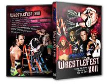 NEW Wrestling: Wrestlefest XVII DVD, Matt Hardy TNA WWE The Godfather Maria