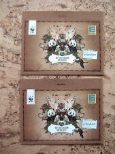NEU 2x EDEKA Sammelkarten WWF Tiere je 4 Sticker Kinder Familie Geschenk OVP Top