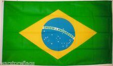 BRAZIL NATIONAL FLAG 5 X 3 SOUTH AMERICA RIO DE JANEIRO