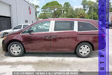 GTG 2011 - 2017 Honda Odyssey 6PC Chrome Stainless Steel Pillars Posts