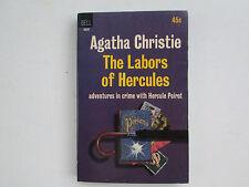 Vintage 1964 DELL 4620 PB Agatha Christie The Labors of Hercules Poirot EC 1stP