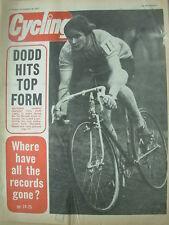 CYCLING MAGAZINE NOVEMBER 25 1972