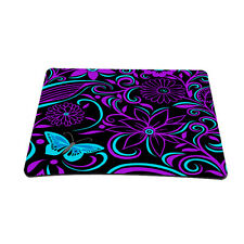 100% New Purple Blue Mouspad Mouse Mice Mat Pad for Optical Wireless Laser Mouse