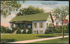 TRAVERSE CITY MI American Legion Building Vtg Postcard