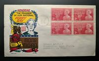 1948 Moina Michael Poppy Day Athens Georgia Illustrated First Day Cover