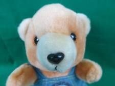 Hard Rock Cafe Blue Overalls Shanghai Teddy Bear China Plush Stuffed Animal