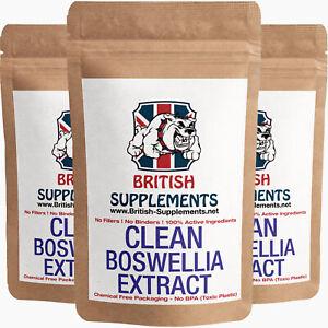 Clean Premium Boswellia Extract 8,200mg (Boswellic Acid 533.5mg) per Serving x2