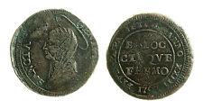 pcc1996_1) FERMO - Pio VI (1775-1799) - Madonnina 1797