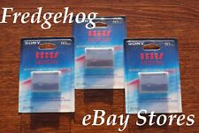 3 x SONY MGR-60 MICRO MV CAMCORDER TAPES/ CASSETTES WITH 64K BITS MEMORY - MPEG2