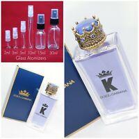 Dolce & Gabbana K (King) EDT For Men SAMPLE 2ml 3ml 5ml 10ml Glass Spray