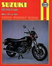 Suzuki GS1000 Fours Owner's Workshop Manual Motor Engine Reparaturanleitung