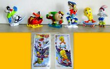 KINDER   - SET COMPLETO LOONEY TUNES WINTER SPORTS