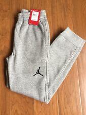 New Jordan Boy Youth Pant Dark Grey Heather 952648-042 Size M