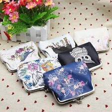 Womens Fashion Mini Wallet Card Holder Case Coin Purse Clutch Handbag Bag New EF