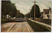 Barton Vermont Park Street Postcard A20