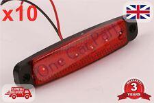 6 DEL 10x camion Position Latéral Indicateur Lampe 12 V rouge E marqué de haute qualité