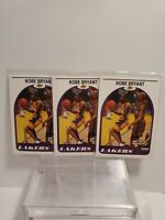 (3) 1999-00 Skybox NBA Hoops KOBE BRYANT Rare DECADE CARD 150 Los Angeles Lakers