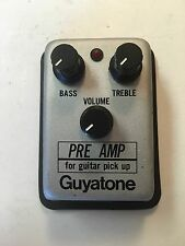 Guyatone Micro Series A-1 Preamp Booster Equalizer Rare Guitar Pedal MIJ Japan