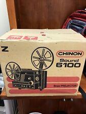 CHINON SOUND 6100 Super 8 Movie PROJECTOR in Box