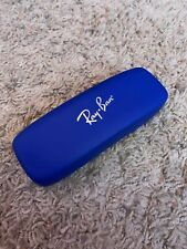 Ray Ban JR Eyeglasses Sunglasses Glasses Dark Blue Hard Case