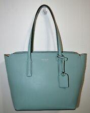 NWT Kate Spade Hazy Blue Pebbled Leather Margaux Medium Tote Bag Purse PXRUA229