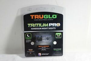 TRUGLO TG231MP1C BRITE SITE TRITIUM PRO FIBER OPTIC HANDGUN SIGHT SMITH & WESSON