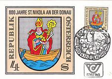 St. Nikola an der Donau 800.J.  Maxik. .Österreich