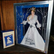 2003 Holiday Visions Barbie W/ matching ornament!! Never Opened! Exc. Cond!