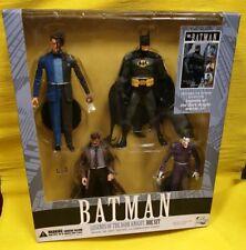 "LEGENDS DARK KNIGHT BATMAN JOKER 2FACE GORDON DC DIRECT w COMIC 7""FIGURE BOX SET"