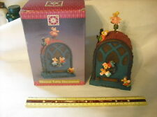 New Old Fashioned Cathedral Radio Moving Mice Music Box