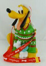 NEW Disneyland Resort Holiday Pluto Christmas Popcorn Bucket