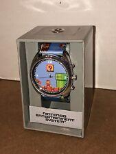 Super Mario Wrist Watch Nintendo Entertainment System With Graphics On Wrist New