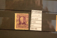 STAMPS OLD U.S. SCOTT N°302 MH* (F105465)