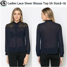 Business Long Sleeve Blouse Size Petite for Women