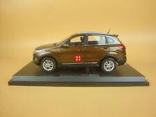 1/18 China Chery tiggo 5 suv  model brown color + gift