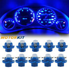 10x Blue B8.4d For Benz Led Dashboard Gauge Cluster Instrument Panel Light Bulbs