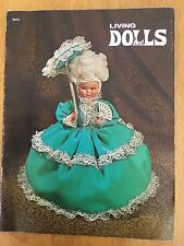 Living Dolls Pattern Book by Gloria Barnhart (1972) # 0375