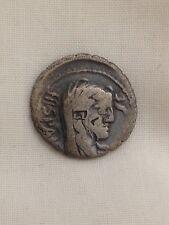 A. Postumius. Albinus Ar Denarius. Hispania obverse. Roman metal detecting find