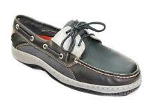Sperry Top-Sider Men's Billfish 3-Eye Dark Grey Boat Shoe 12M NW/OB