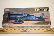 Academy F6F-3 or -5 Hellcat WWII Navy Aircraft Model Kit fast shipping USA New
